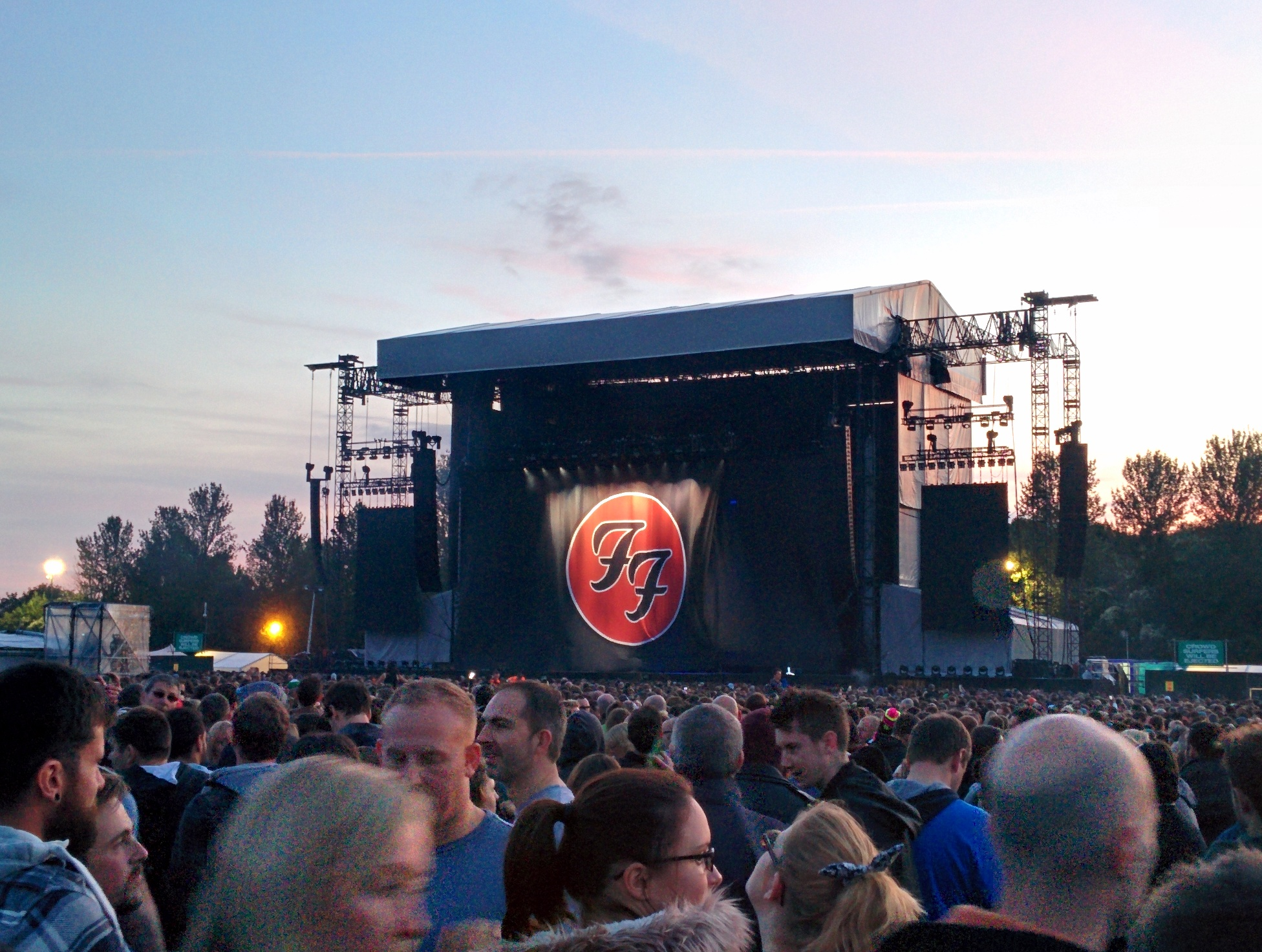 Foo Fighters banner